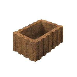 Цветочница бетонная ВЫБОР 1РФ.60.25.40 600*250*400 Стандарт гладкая Осень