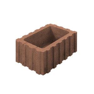 Цветочница бетонная ВЫБОР 1РФ.60.25.40 600*250*400 Стандарт гладкая Оранжевый