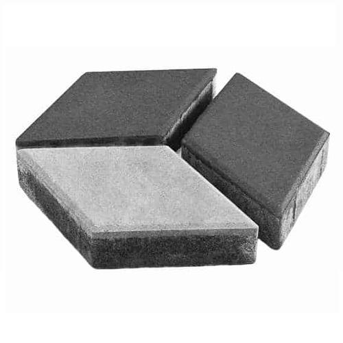 Тротуарная плитка Ландшафт Ромб 60 мм