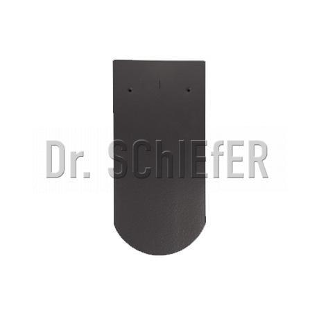 Керамическая рядовая черепица Meyer-Holsen Biber кристальный ангоб графит