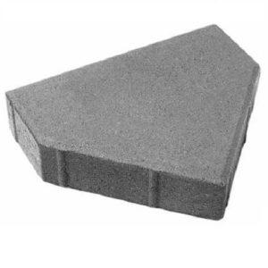 Тротуарная плитка Ландшафт Шапка епископа 60 мм