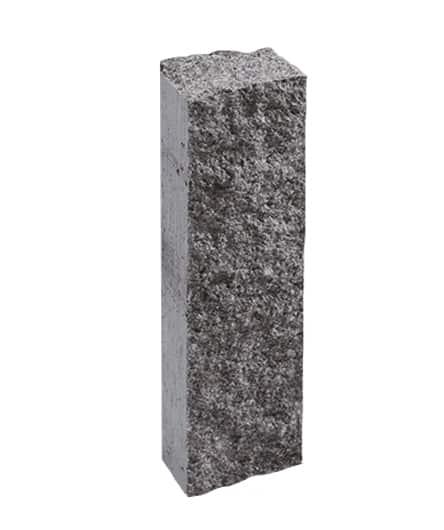 Ландшафтный элемент ВЫБОР ПАЛИСАД 1ПП 50.15.12-к 500*150*120 Искусственный камень колотая Шунгит