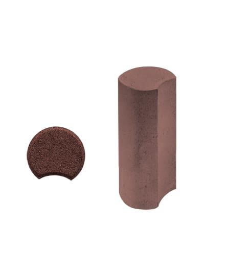 Ландшафтный элемент ВЫБОР ПАЛИСАД 1ПП.50 120*150*500 Стандарт гладкая Красный