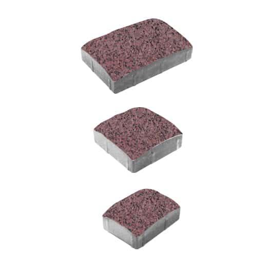 Тротуарные плиты ВЫБОР Гранит УРИКО А.1.УР.4 Красный с черным