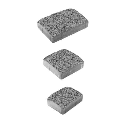 Тротуарные плиты ВЫБОР Гранит УРИКО А.1.УР.4 Серый с черным