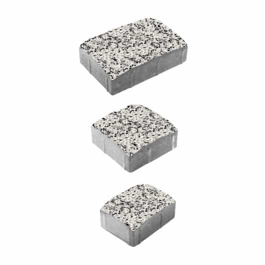 Тротуарные плиты ВЫБОР Стоунмикс УРИКО А.1.УР.4 Бело-черный