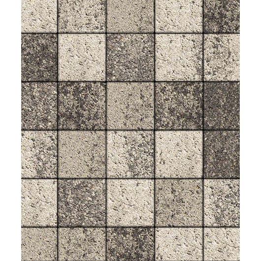 Тротуарные плиты ВЫБОР Листопад ЛА-ЛИНИЯ А.2.К.4 Антрацит