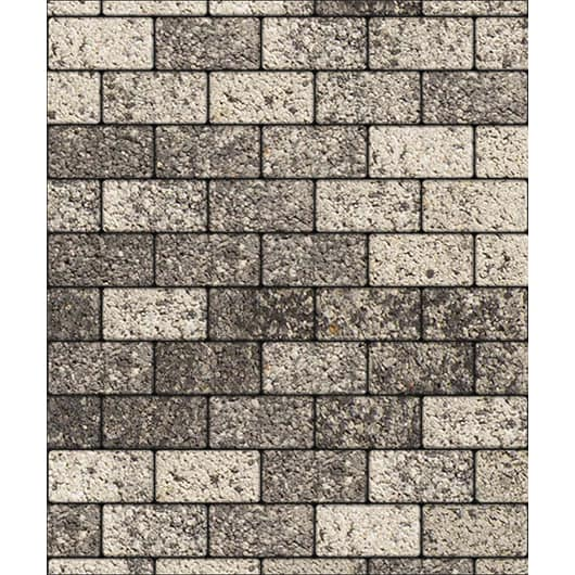 Тротуарные плиты ВЫБОР Листапад гладкий ЛА-ЛИНИЯ А.2.П.4 Антрацит