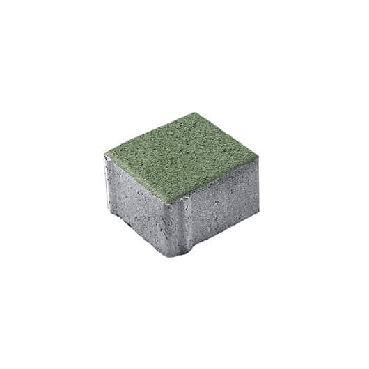 Тротуарные плиты ВЫБОР Стандарт гладкий ЛА-ЛИНИЯ А.3.К.4 Зеленый