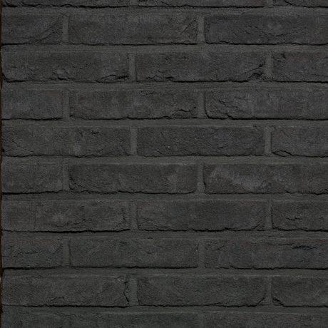 Кирпич облицовочный ручной формовки Terca Agora Grafietzwart, 215*102*65 мм