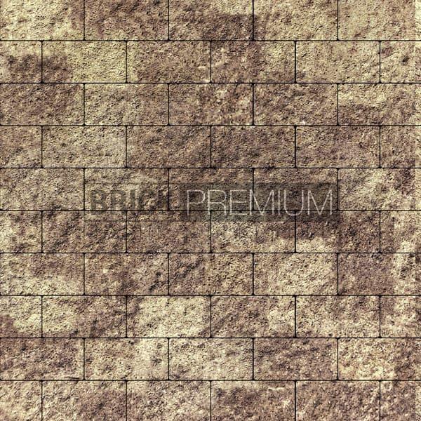 Тротуарная плитка Brick Premium Платцстоун Алькантара гранит 45 мм