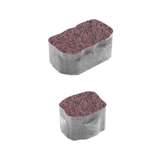 Тротуарные плиты ВЫБОР Гранит АРЕНА Б.1.АР.6 Красный с черным