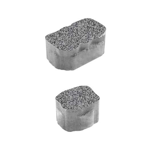 Тротуарные плиты ВЫБОР Гранит АРЕНА Б.1.АР.6 Серый с черным