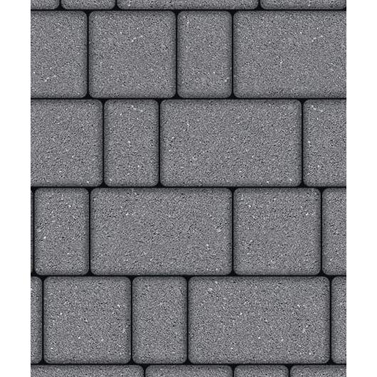 Тротуарная плитка ВЫБОР Гранит СТАРЫЙ ГОРОД Б.1.Фсм.6 Серый