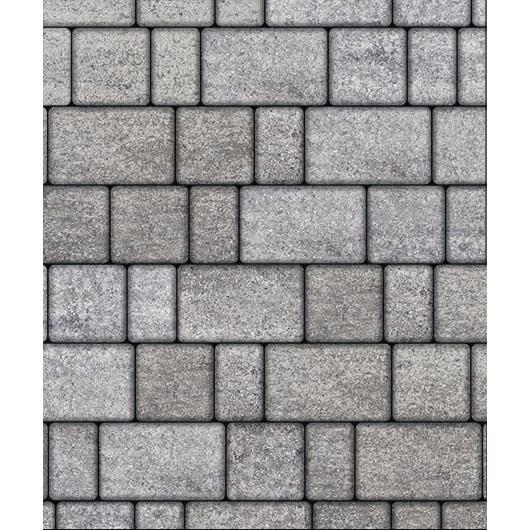 Тротуарная плитка ВЫБОР Искусственный камень СТАРЫЙ ГОРОД Б.1.Фсм.6 Шунгит
