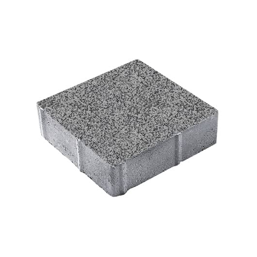 Тротуарные плиты ВЫБОР Гранит ЛА-ЛИНИЯ Б.1.К.6 Серый с черным