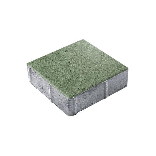 Тротуарные плиты ВЫБОР Стандарт ЛА-ЛИНИЯ Б.1.К.8 Зеленый