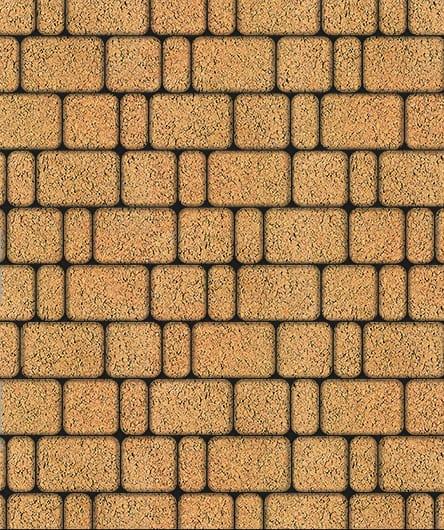 Тротуарная плитка ВЫБОР Листопад гладкий КЛАССИКО Б.1.КО.6 Сахара