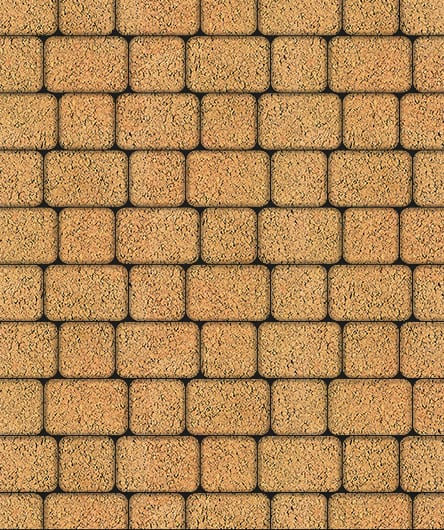 Тротуарная плитка ВЫБОР Листопад гладкий КЛАССИКО Б.1.КО.6 М Сахара
