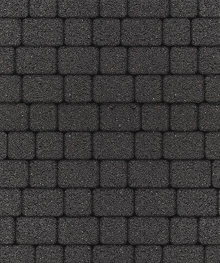 Тротуарная плитка ВЫБОР Стандарт КЛАССИКО Б.1.КО.6 М Черный