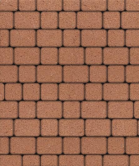 Тротуарная плитка ВЫБОР Стандарт КЛАССИКО Б.1.КО.6 М Оранжевый