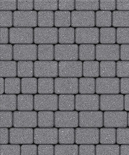 Тротуарная плитка ВЫБОР Стандарт КЛАССИКО Б.1.КО.6 М Серый