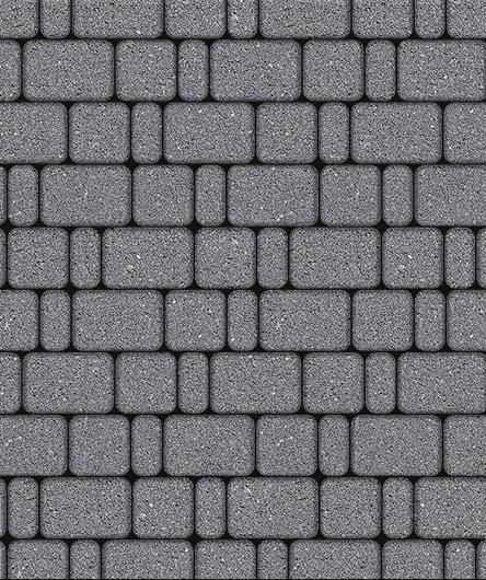Тротуарная плитка ВЫБОР Стандарт КЛАССИКО Б.1.КО.6 Серый