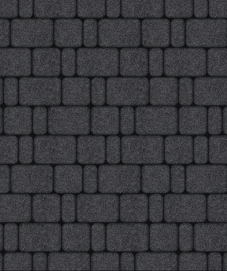 Тротуарная плитка ВЫБОР Стоунмикс КЛАССИКО Б.1.КО.6 Черный