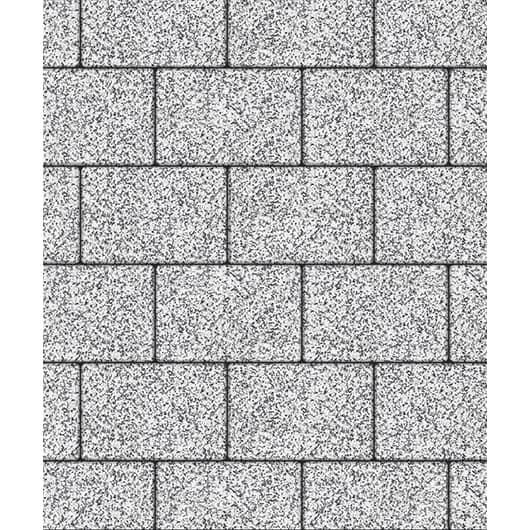 Тротуарные плиты ВЫБОР Стоунмикс ЛА-ЛИНИЯ Б.1.П.8 Бело-черный