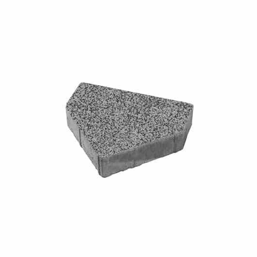 Тротуарные плиты ВЫБОР Стоунмикс ЛА-ЛИНИЯ Б.1.ШЕ.6 Серый с черным