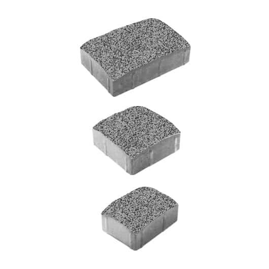 Тротуарные плиты ВЫБОР Гранит УРИКО А.1.УР.6 Серый с черным