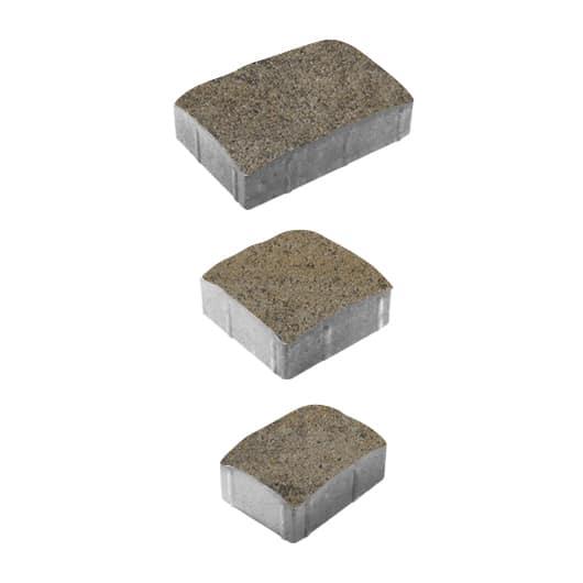 Тротуарные плиты ВЫБОР Искусственный камень УРИКО А.1.УР.6 Серый с Базальт