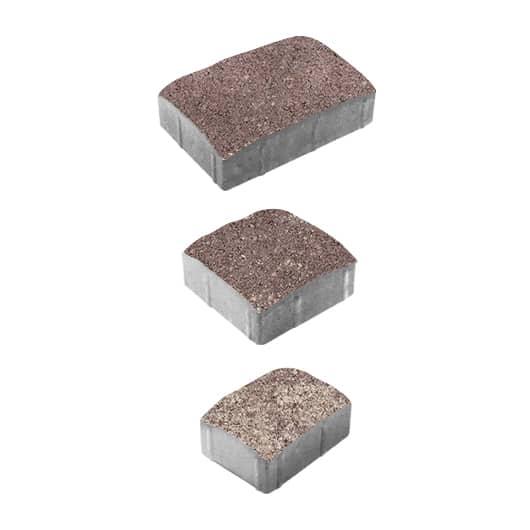 Тротуарные плиты ВЫБОР Искусственный камень УРИКО А.1.УР.6 Серый с Плитняк