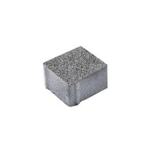 Тротуарные плиты ВЫБОР Гранит ЛА-ЛИНИЯ Б.2.К.6 Серый с черным