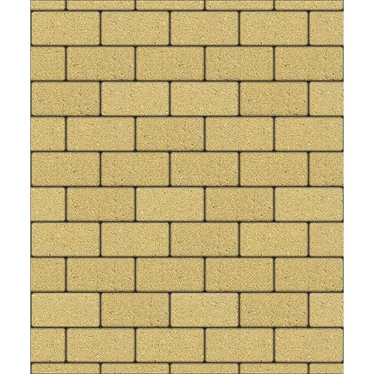 Тротуарные плиты ВЫБОР Стандарт ЛА-ЛИНИЯ Б.2.П.6 Желтый