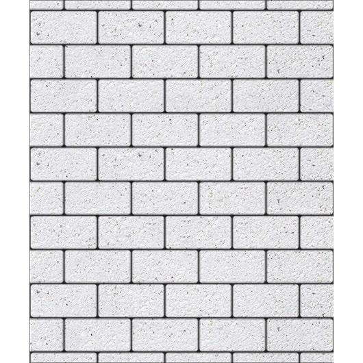 Тротуарные плиты ВЫБОР Стоунмикс ЛА-ЛИНИЯ Б.2.П.6 Белый