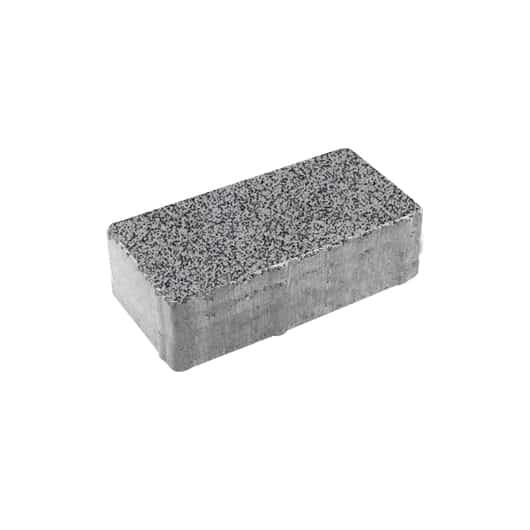Тротуарные плиты ВЫБОР Гранит ЛА-ЛИНИЯ Б.2.П.8 Серый с черным
