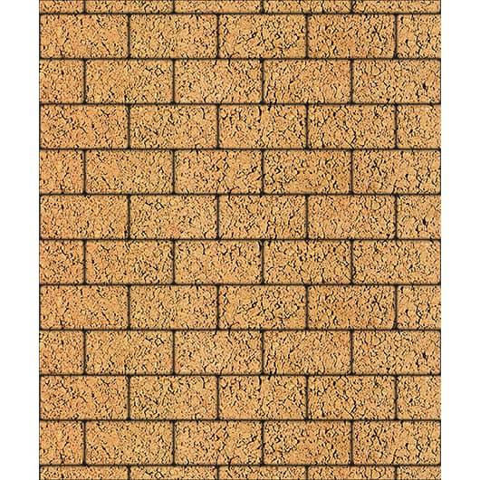 Тротуарные плиты ВЫБОР Листопад гладкий ЛА-ЛИНИЯ Б.2.П.8 Сахара