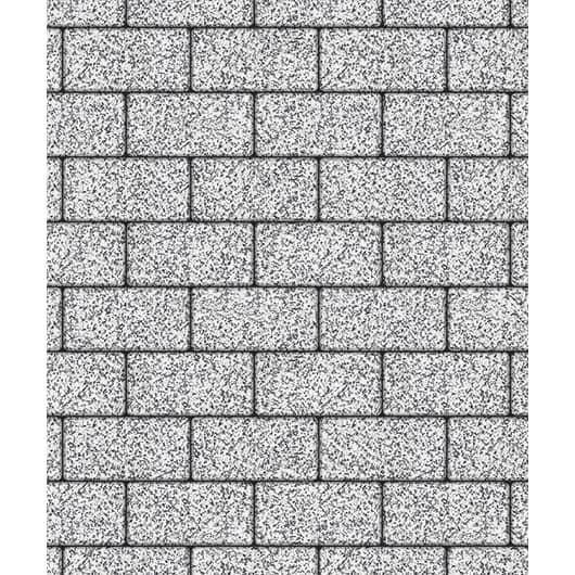 Тротуарные плиты ВЫБОР Стоунмикс ЛА-ЛИНИЯ Б.3.П.6 Бело-черный