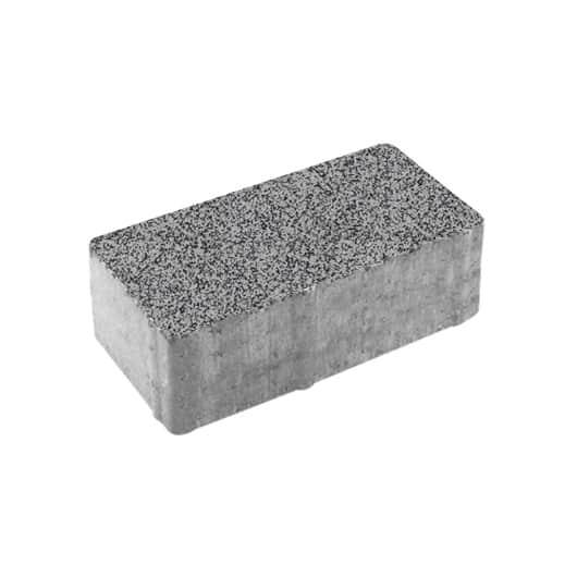 Тротуарные плиты ВЫБОР Гранит ЛА-ЛИНИЯ Б.5.П.8 Серый с черным