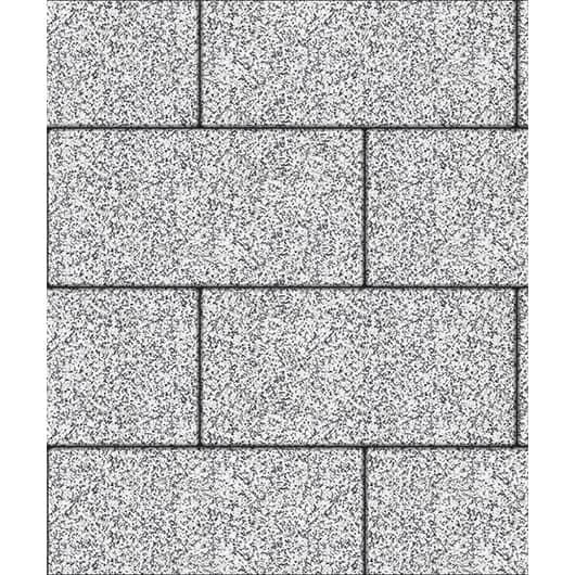 Тротуарные плиты ВЫБОР Стоунмикс ЛА-ЛИНИЯ Б.5.П.8 Бело-черный