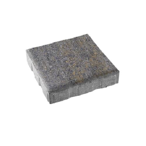 Тротуарная плитка ВЫБОР Искусственный камень КВАДРУМ Б.5.К.6 Базальт