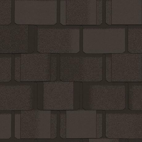 Гибкая черепица CertainTeed Belmont Black Granite
