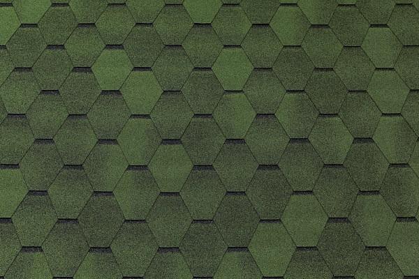 Тегола TOP SHINGL Смальто цвет зеленый