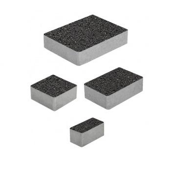 Тротуарные плиты ВЫБОР Гранит МЮНХЕН Б.2.Фсм.6 Черный- комплект из 4 плит