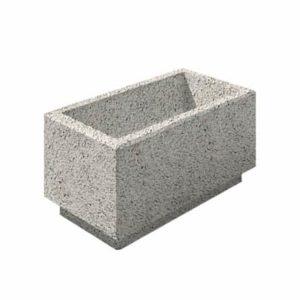 Цветочница бетонная ВЫБОР ЦВ-2 400*800*400 С пигментом Гранит