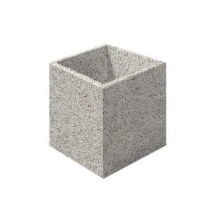 Цветочница бетонная ВЫБОР ЦВ-3 600*600*600 С пигментом Гранит
