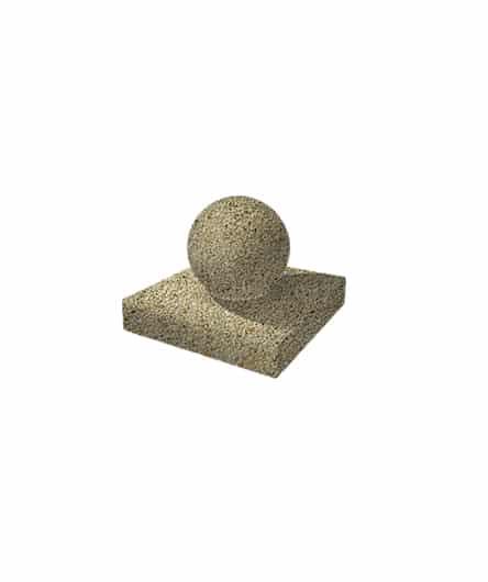 Ландшафтный элемент ВЫБОР ШАР-1 d=300 Медовый Мытый бетон