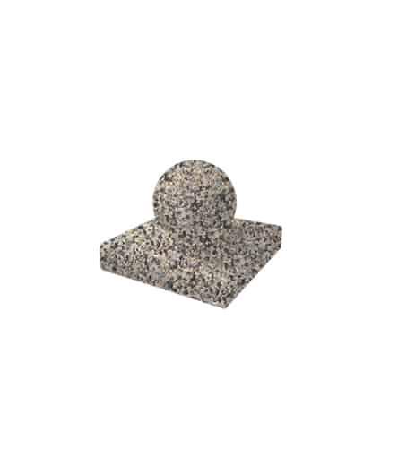 Ландшафтный элемент ВЫБОР ШАР-1 d=300 Серо-красный Мытый бетон
