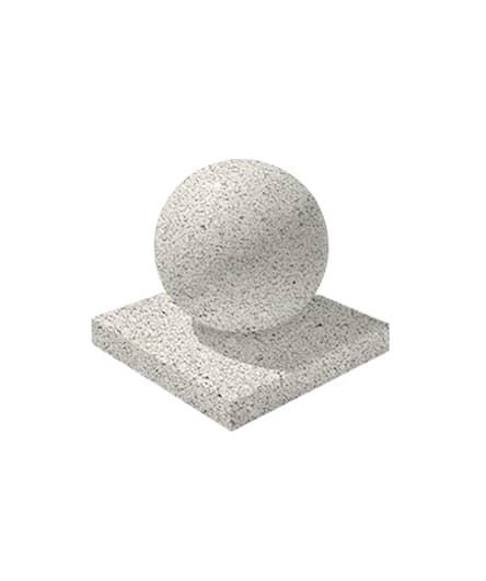 Ландшафтный элемент ВЫБОР ШАР-1 d=600 Белый Гранит